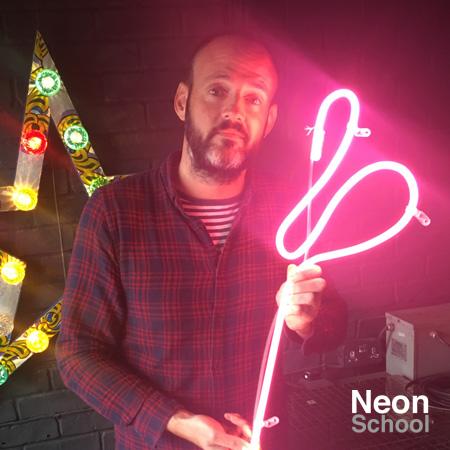 Jon Jennings, Neon Student