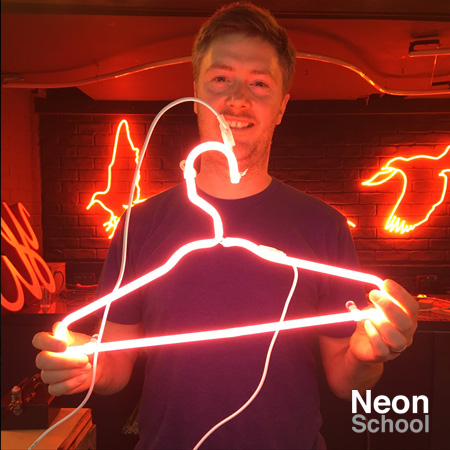 Luke Tilly, Neon Student