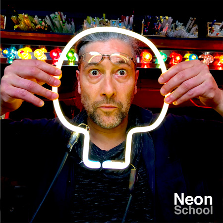 Pepe, Neon School Student