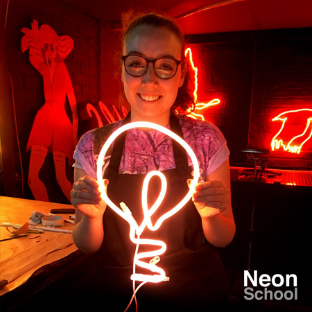 Millie Ratcliff at Neon School