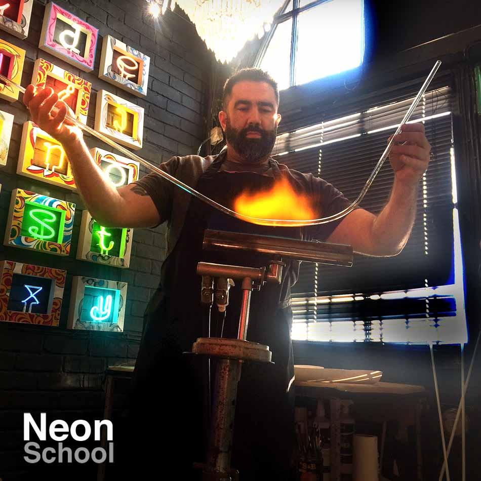 Ben Neon Neon Student
