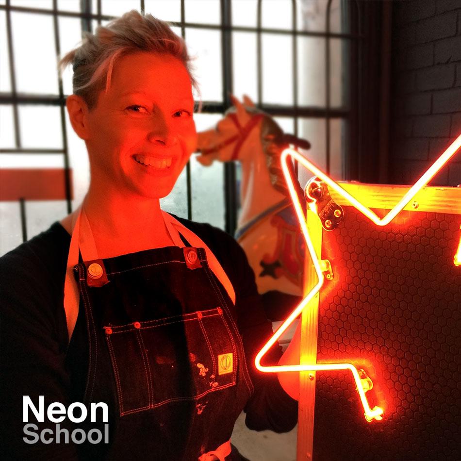 Jessica Allan, Neon Student