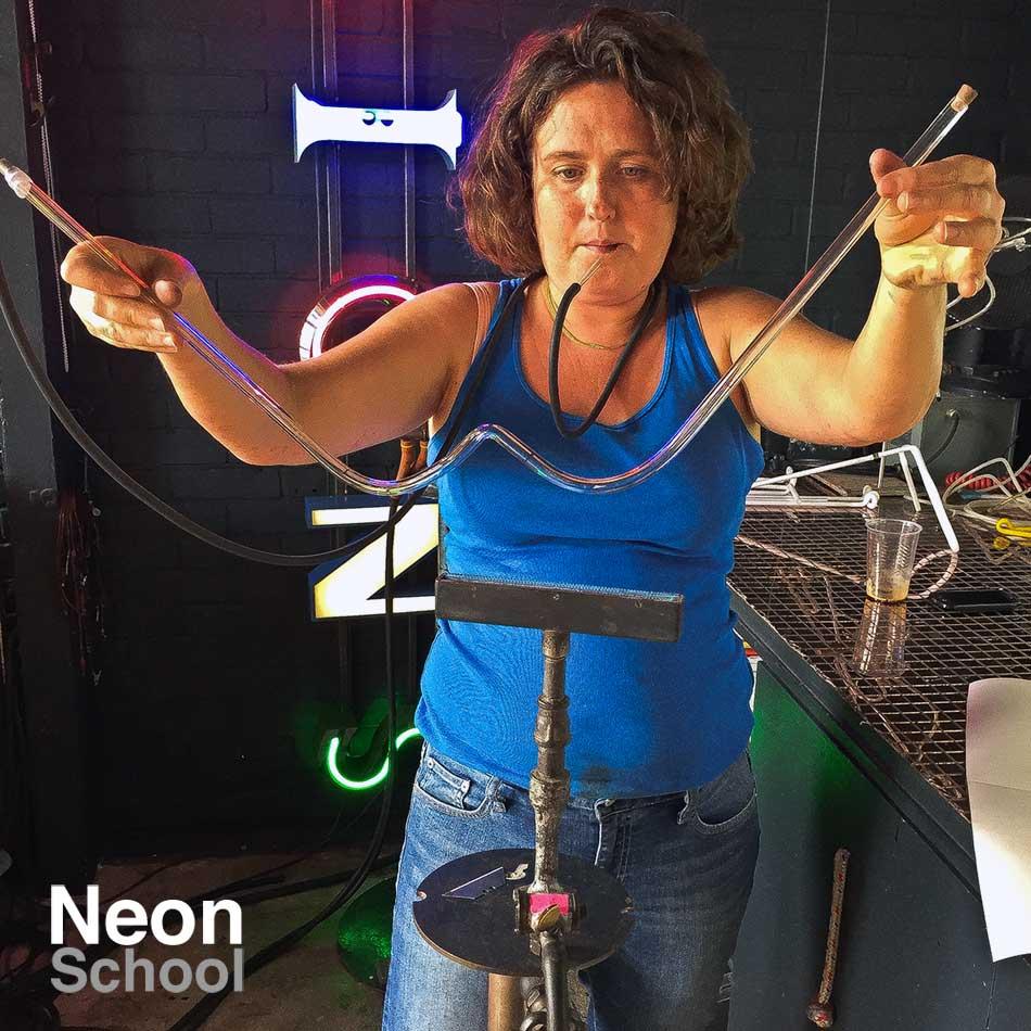 Neon Heart Student